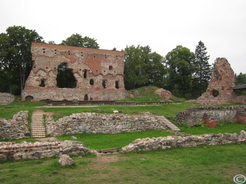 Ruine der Ordensburg