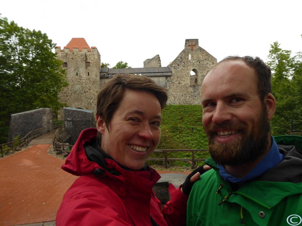 Ruinen der Ordensburg
