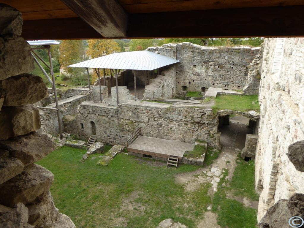Ruinen...